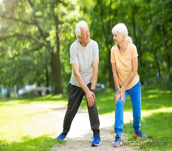درمان ورم زانو در سالمندان با ورزش