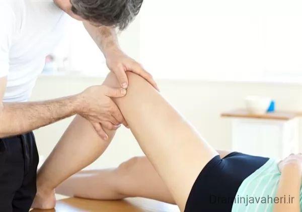 درمان قفل شدن زانو با فیزیوتراپی