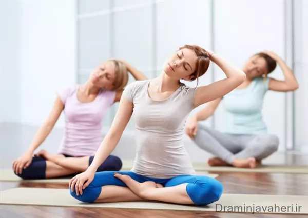 ورزش یوگا برای درما پای پرانتزی