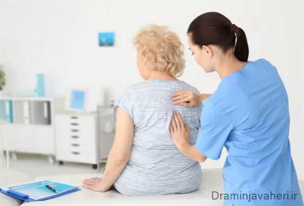 علائم پوکی استخوان در زنان