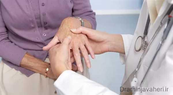 روماتیسم مفصلی در انگشتان