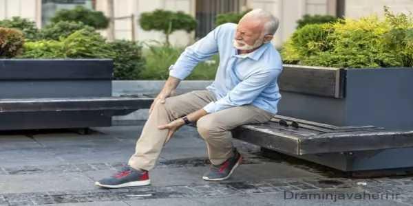 علائم و نشانه های پا درد در سالمندان