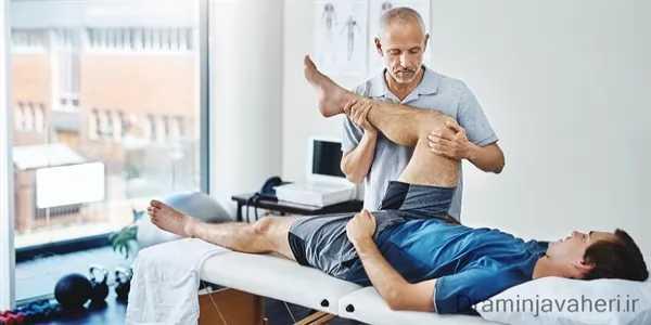درمان پا درد با فیزیوتراپی