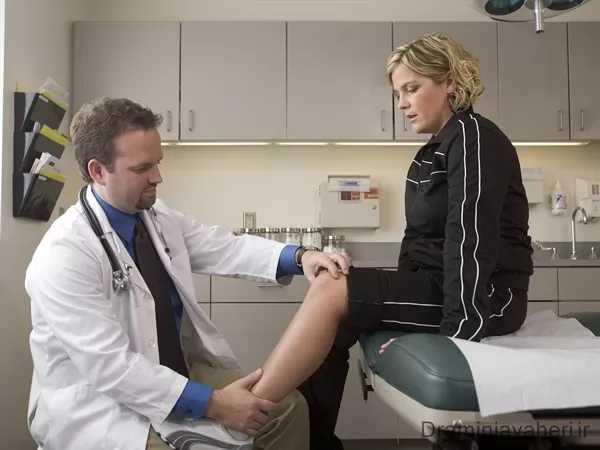 درمان درد زانو