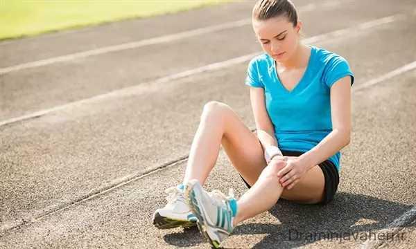 درد زانو در جوانان