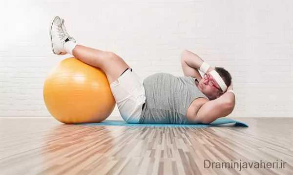 تاثیر ورزش بر زانودرد و چاقی