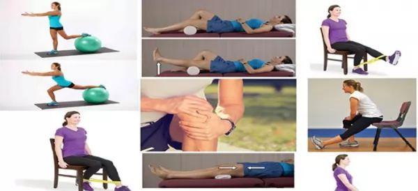 انواع حرکات ورزشی بعد از تعویض مفصل زانو