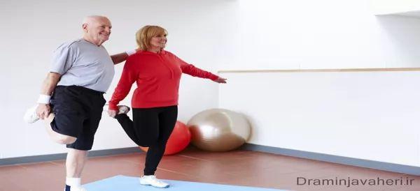 ورزش برای درمان آرتروز زانو در سالمندان