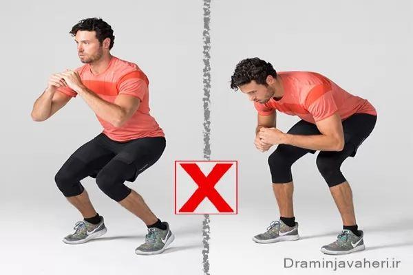 تمرینات ورزشی مضر برای زانو