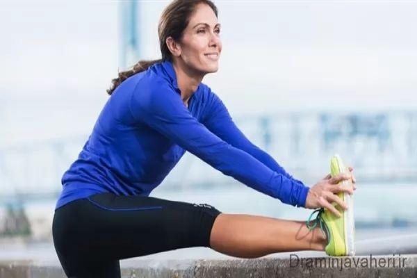 حرکات کششی قبل از پیاده روی با آرتروز زانو